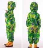 Детей трость полиэстер куртка детей водонепроницаемый дождевой чехол
