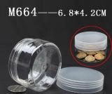 투명한 색깔 빈 크림 장식용 콘테이너 단지 또는 피부 관리 가면 크림 PP 병