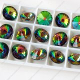 ステンレス鋼の宝石類のためのWholsale多彩なRivoliの水晶石