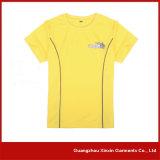 Il cotone 100% personalizza gli uomini delle magliette di colore di disegno due (R83)
