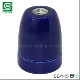 SAA aufgeführter keramischer Porzellan-Lampen-Halter der Lampen-Kontaktbuchse-E27