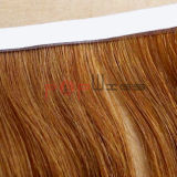 Trama completa bionda della pelle dei capelli del Virgin di Handtied (PPG-l-0584)