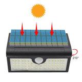 Faltbarer im Freiensolargarten IP65 der Lampen-58 LED 3W imprägniern Bewegungs-Fühler-Sicherheits-Solarlampe