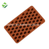 55-chocolat Grains de Café de la cavité du moule de cuisson en silicone