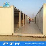 Prefabricados modulares Casa contenedor de acero como dormitorio