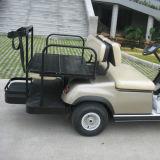 電池式の4人のゴルフ車