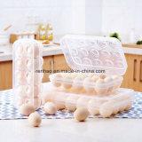 カスタマイズされたプラスチック透過明確な記憶はふたが付いているまめボックスに卵を投げつける