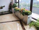 Grande autonomia de Aço Inoxidável Watering Flower Pot com controle de WiFi