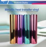 El coreano metálica PVC elástico de vinilo de alta transferencia de calor de 50cm x 25 m.