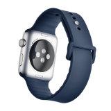 Comercio al por mayor precio de fábrica de la banda de reloj de silicona para Apple Iwatch Band
