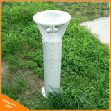 Indicatore luminoso solare di alluminio del prato inglese di paesaggio del LED della lampada esterna del giardino