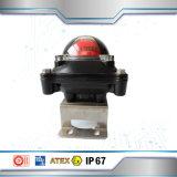 Caixa de interruptor à prova de explosões do limite do atuador pneumático