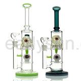 Glassworks van de brander de Gealigneerde Rokende Waterpijp van het Glas van het Water Perc (S-GB-237)