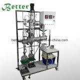 Sistema de la destilación del camino corto para el petróleo de cáñamo
