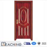 Acciaio esterno classico all'interno dei portelli esterni di progetto di qualità superiore del portello di legno solido
