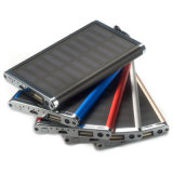 chargeur mobile de pouvoir de l'énergie 4000mAh solaire de capacité réelle mince portative de côté