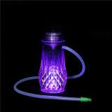 Vaso + tubi dell'acqua per narghilé elettronico di vetro di fumo di Cigarett Shisha del tubo di fumo della barra di Shisha il mini
