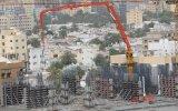 Crescimento de colocação concreto do crescimento concreto da aranha