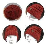 Chapéu agradável do Beanie do Knit do inverno do esqui POM POM da forma feita sob encomenda para chapéus do inverno das senhoras das mulheres