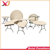 Half-Moon/Rectangle/banquet ronds/carrés la table de restaurant/mariage