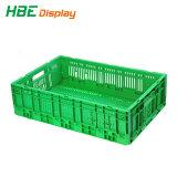 Sacola grande volume de colapso do compartimento plástico Vegetal Engradado de dobragem