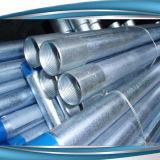 Tuyaux en acier galvanisé fileté sur les deux extrémités