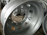 22,5 X8.25 заводской поставки погрузчика стальные колеса, бескамерные шины колеса,бескамерные стальные ободья погрузчика