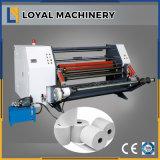 Rollo de papel de la máquina de corte de alta velocidad con eje deslizante