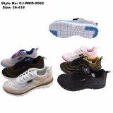 Venta de aire caliente de malla de la mujer deporte zapatos Sneakers