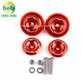 Präzision anodisierte dekorative Aluminiumschrauben für Motified Motorrad-Zubehör