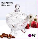 Vaso di vetro decorativo della caramella (GB1805LB/P1)