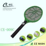 Vendedor caliente gran Net Mosquito Swatter recargable captura de errores con LED