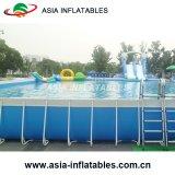 Im FreienSwimmingpool, über Bodenswimmingpool, Metallrahmen-Swimmingpool