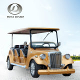 Carrello di golf classico dell'automobile elettrica del carrello dell'annata delle 8 sedi
