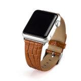 Fascia di cuoio alla moda classica per gli uomini per il cinturino del Apple