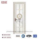A porta interior retrata o indicador de alumínio e a porta com vitrificação da camada dobro
