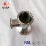 SS304/SS316L de aço inoxidável sanitárias da válvula anti-retorno