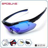 Os óculos de sol polarizados Unbreakable do esporte que dão um ciclo óculos de sol dos esportes marcam seus próprios