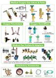 Klep qf-2 van de Cilinder van de Zuurstof van het messing voor de Gashouders van O2