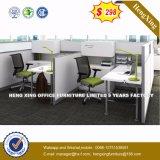 中国は分解する事務机白いカラーオフィス用家具(HX-4PT058)を
