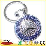 Keyring Keychain de la insignia del coche de metal