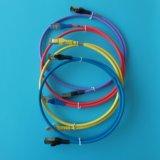 10FT Grijs van de Kabel Ethernet van CAT6A het Netwerk Geïnitialiseerde