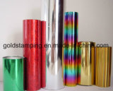 Aluminum Transfer Holographic Hot Stamping Foil for Bottle Cape