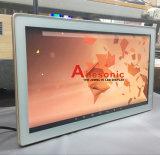 22-duim zette de Reclame van LCD de Muur van de Digitale Vertoning van het Comité de Kiosk van de Monitor van het Scherm van de Aanraking op