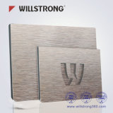 Houseboat matériel animal de compagnie Willstrong PVDF/poids léger&panneau composite en aluminium résistant