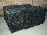 Poste en acier peint par noir à vendre