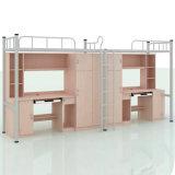 Kind-Metallkoje-Bett der Schule-Schlafsaal-Möbel-zwei