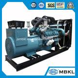 Корея генераторные электростанции Doosan 420квт/525КВА DP158ld дизельного генератора