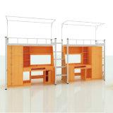 Школьной мебели в общежитии двух детей металлическая Двухъярусная кровать