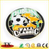 Los deportes resuelven la moneda Sporting del balompié del fútbol de la moneda del metal del balompié